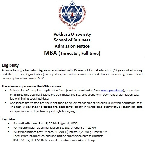 MBA Advertisment