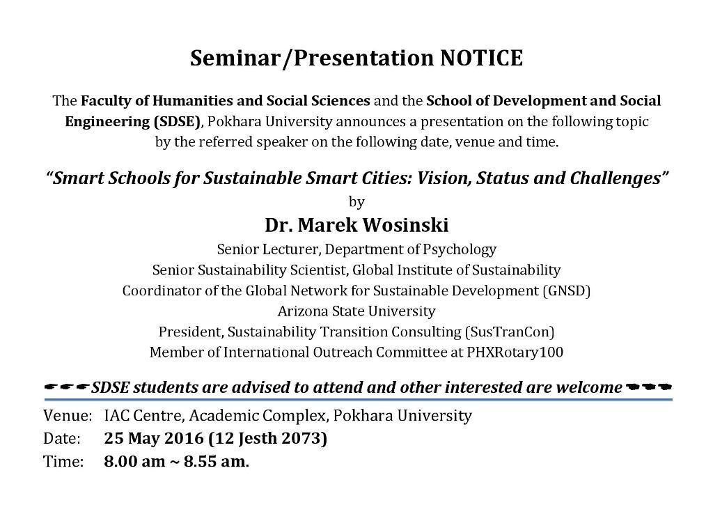 Notice_Presentation_Dr Marek