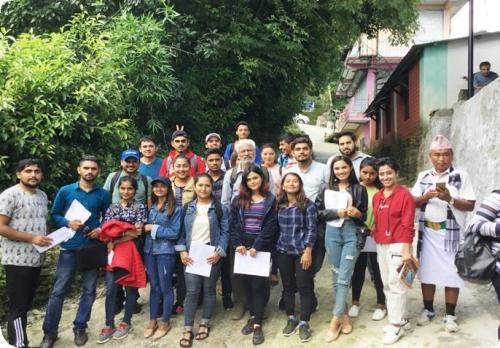 Field Visit on Research Methodology (BDEVS 4th Semester)